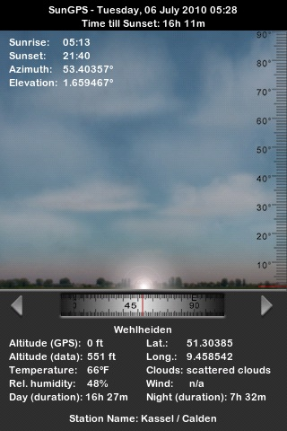 SunGPS screenshot-4