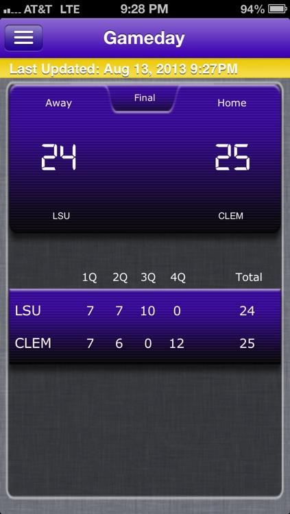 LSU Football Live screenshot-4