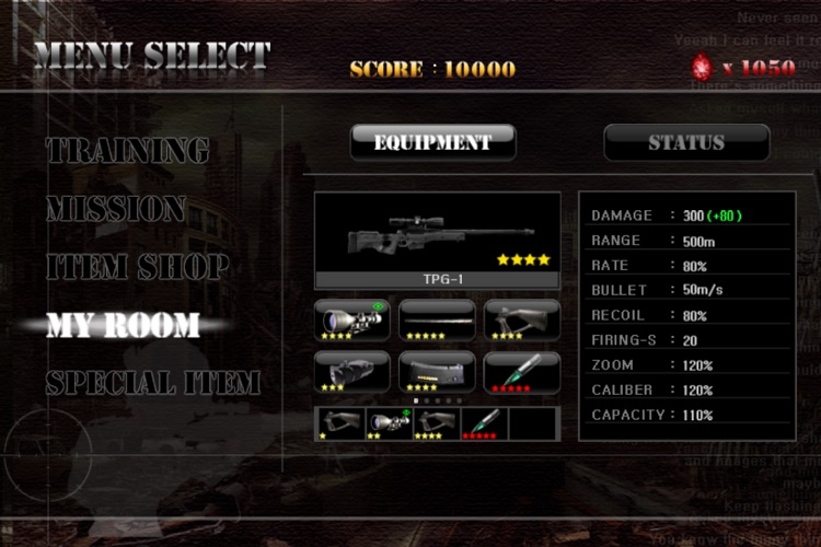Ghost Sniper : Zombie screenshot-1