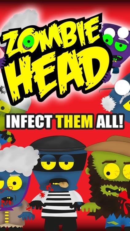 A Zombie Head Free HD - Virus Plague Outbreak Run screenshot-3
