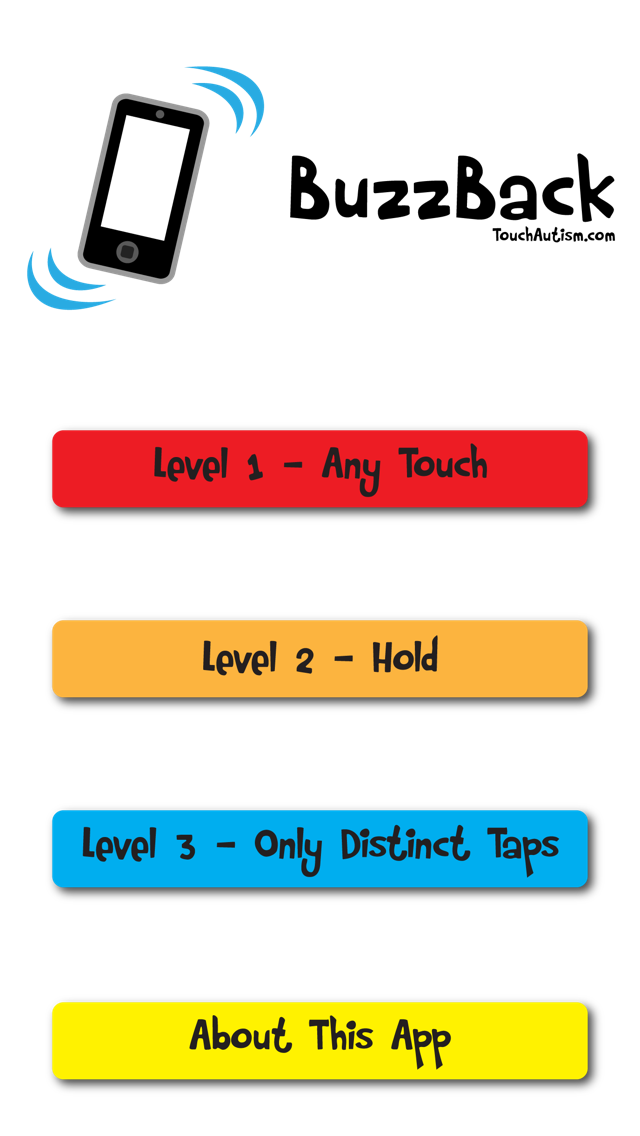 BuzzBack Cause & Effect With Vibrations & Sound iPhone