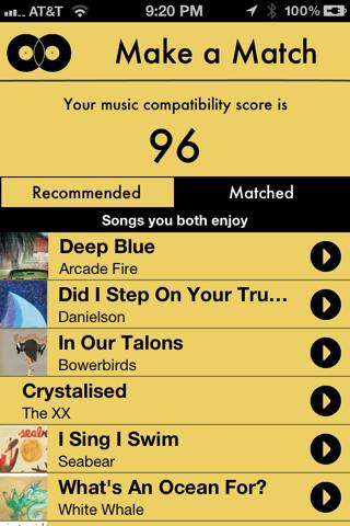 Tune Match screenshot 3