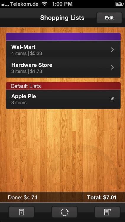 Shopping List (Grocery List) screenshot-3