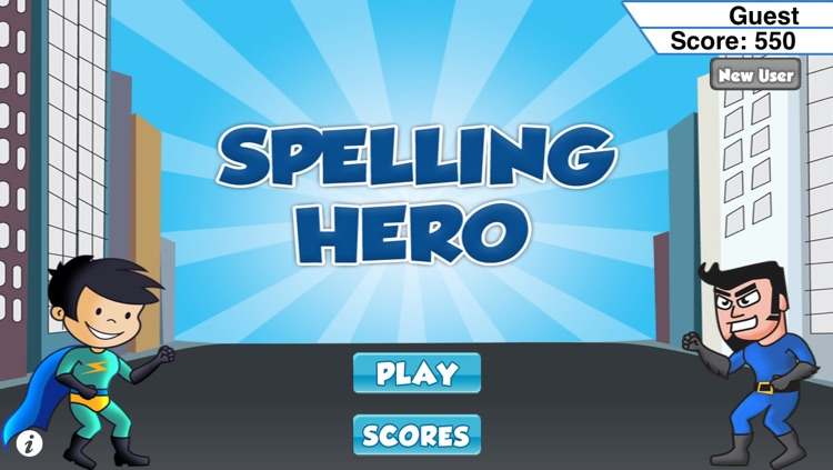 Spelling Hero Game
