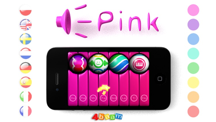 PianoBall - Fun With Learning - magic instrument for kids screenshot-3