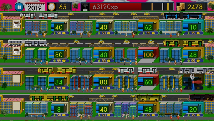 City Bus Tycoon 2 Free - Traffic Giant Simulation Game screenshot-4