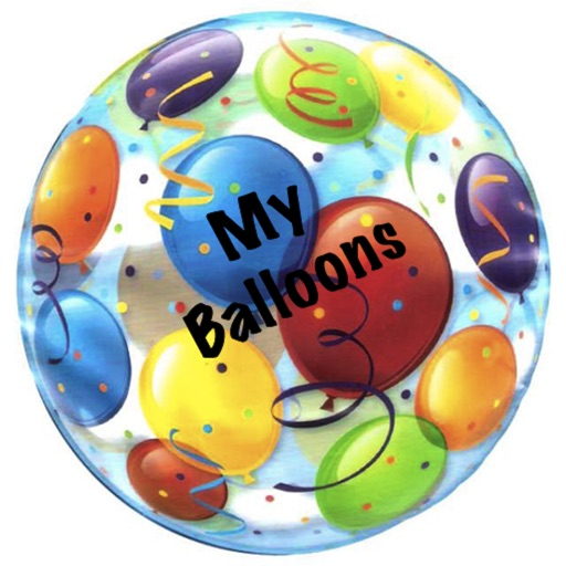 My Balloons HD Free: Pop the balloons faster you can. Free Game for kids and adults icon