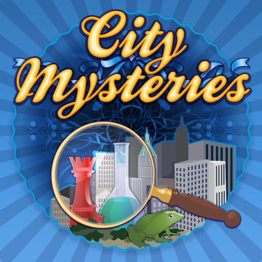 City Mysteries - Fun Seek and Find Hidden Object Puzzles