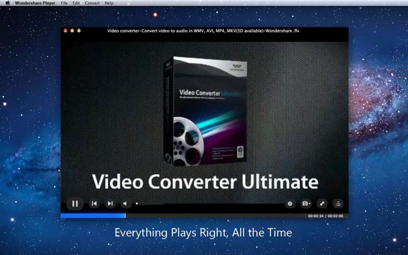Wondershare Player Screenshot