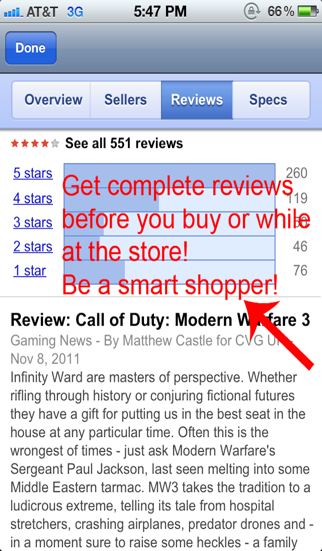 Barcode Scanner Shopping review screenshots