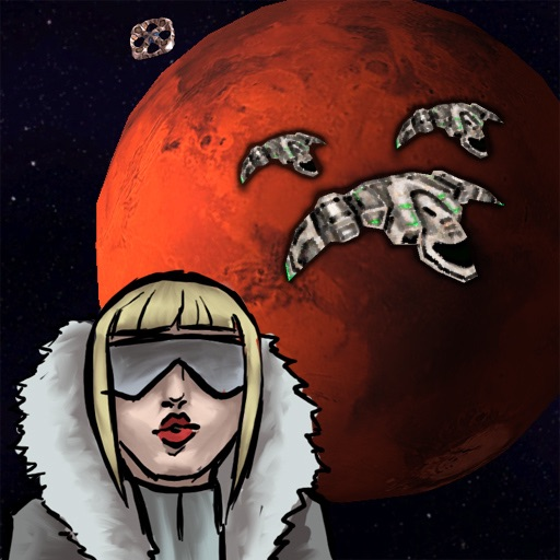 Mars Defender: Asteroids Space RPG