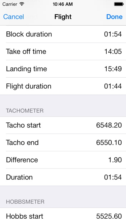 AeroPlus Schedule screenshot-3