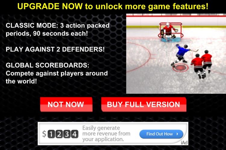 Slapshot Frenzy™ Ice Hockey Free screenshot-3