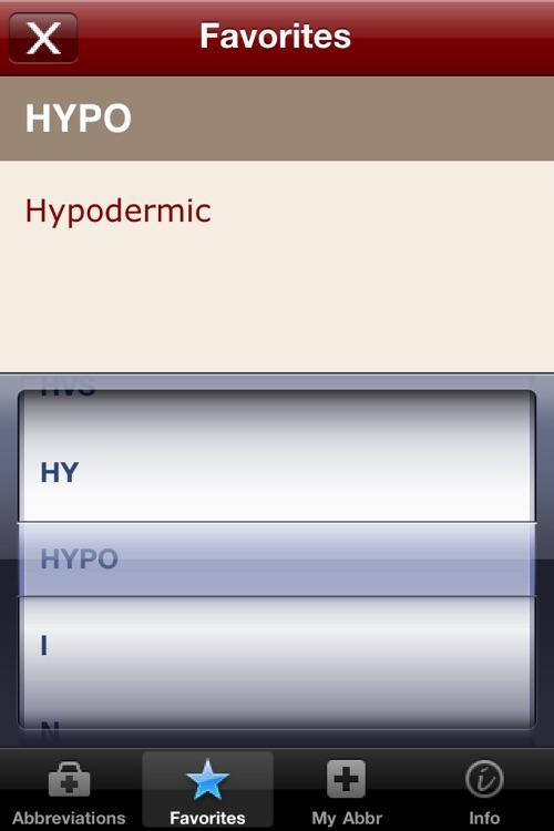 Medical Abbreviations and Acronyms screenshot-3
