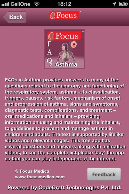 Asthma FAQ screenshot-4