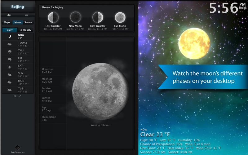 Clear Day Lite - (Formerly Weather HD Free)