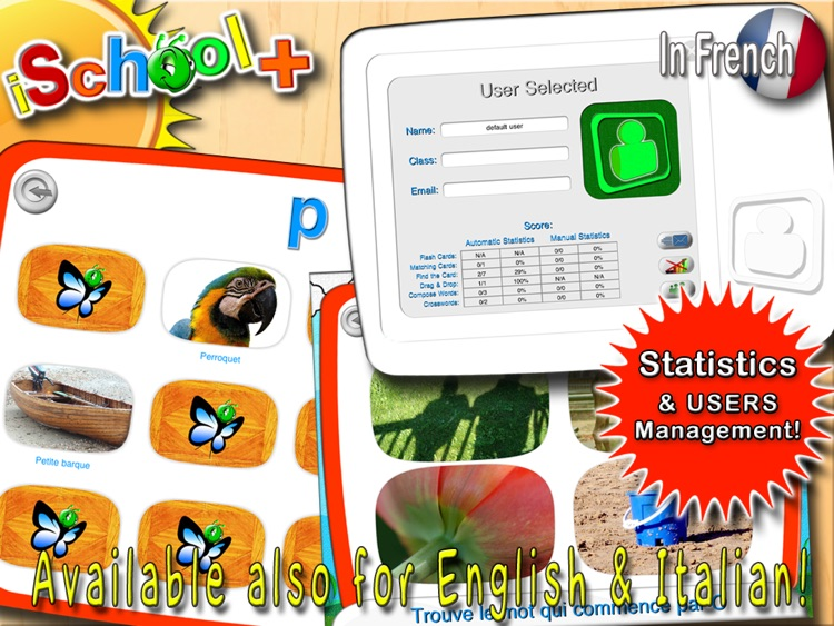 iSchool+ for French Language! screenshot-4