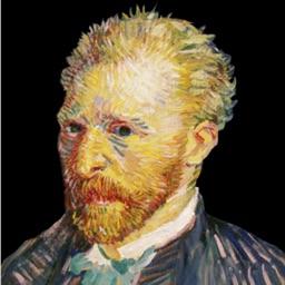 Van Gogh Interactive Art Gallery