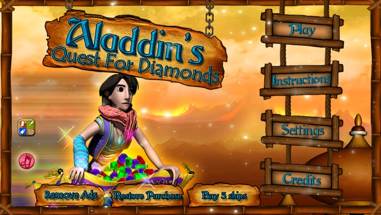 Aladdin's Quest for Diamonds for iPhone screenshot-4