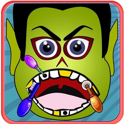 Funny Zombie Dentist Office - The Adventure of Clappy Flying Tiny Monster Free Game - Play Fun Time for Girls and Boys