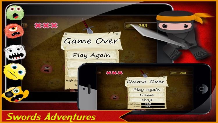 Monster Ninja Lite screenshot-4