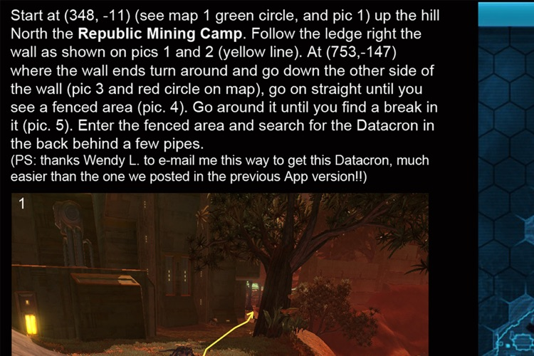 Locations for SWTOR HD screenshot-3