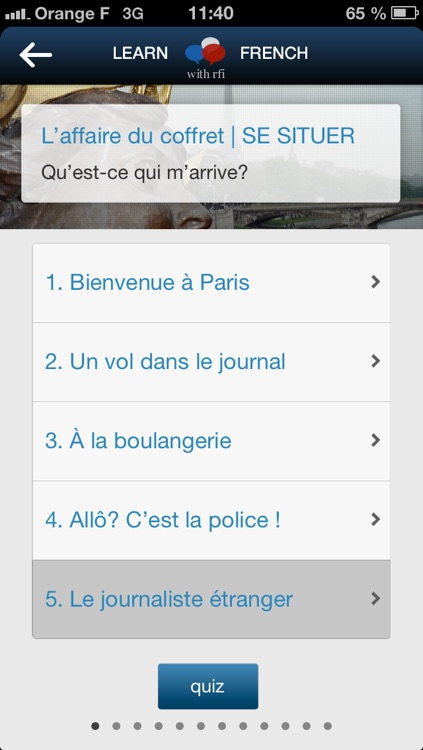 Learn French with RFI screenshot-3