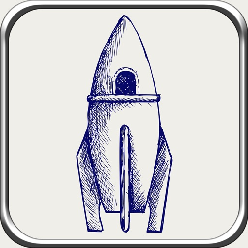Space Race Rocket - Top Run Flight Game
