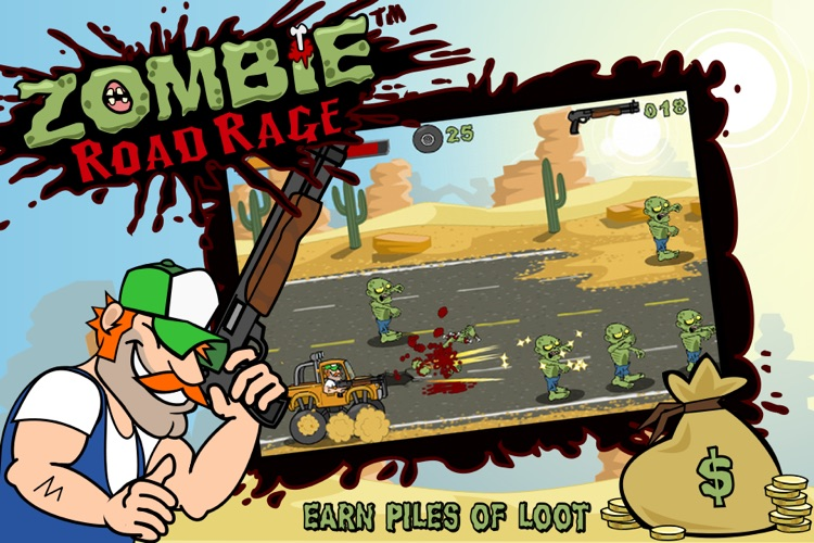 Zombie Road Rage screenshot-1