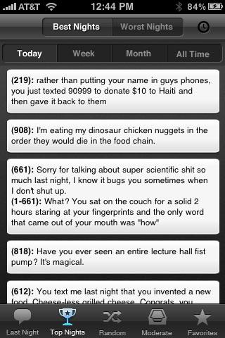 Texts From Last Night screenshot-3