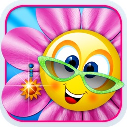 Singing Daisies - a dress up & make up games for kids