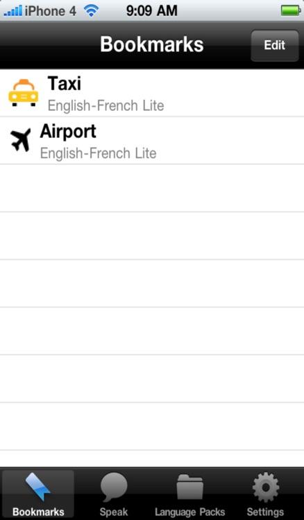 English to Portuguese Voice Talking Translator Phrasebook EchoMobi Travel Speak LITE screenshot-3