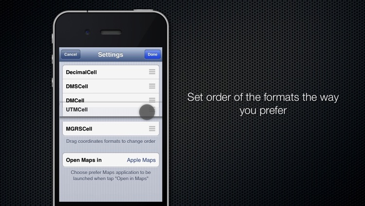 Coordinates Converter screenshot-4