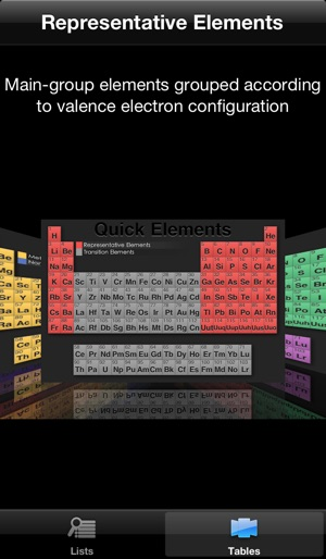 quick periodic table of the elements on the app store - Best Periodic Table App For Iphone