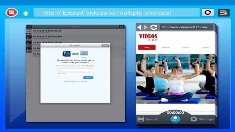 Web Recording Tool screenshot-4