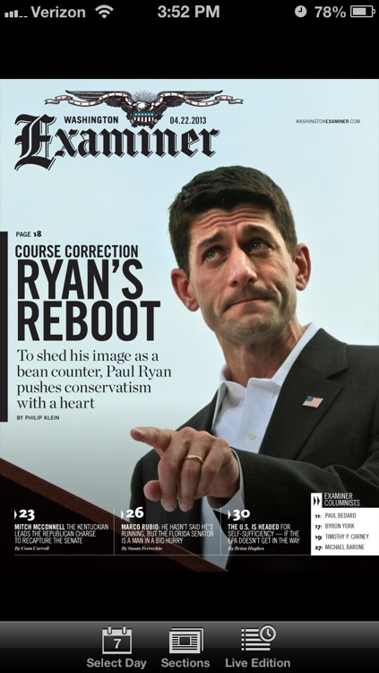 Washington Examiner Magazine
