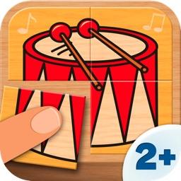 Kids Games - Music Puzzle (4 Pieces) 2+
