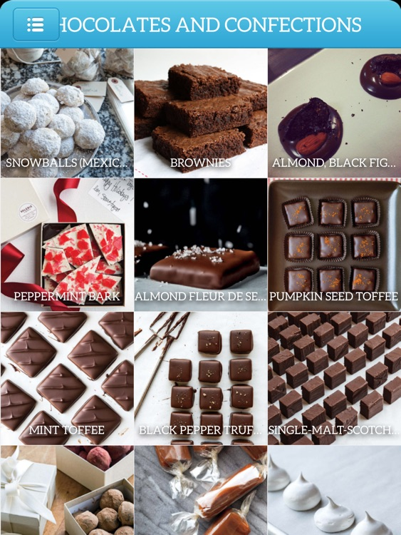 Dessert Recipes Chocolate and Confection for iPad screenshot-3