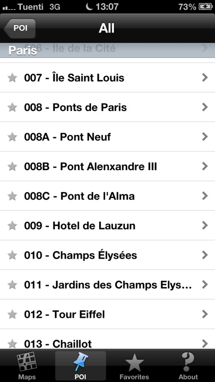 Paris touristic audio guide (english audio) screenshot-4