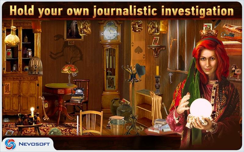 Mysteryville Lite: hidden object investigation screenshot 1
