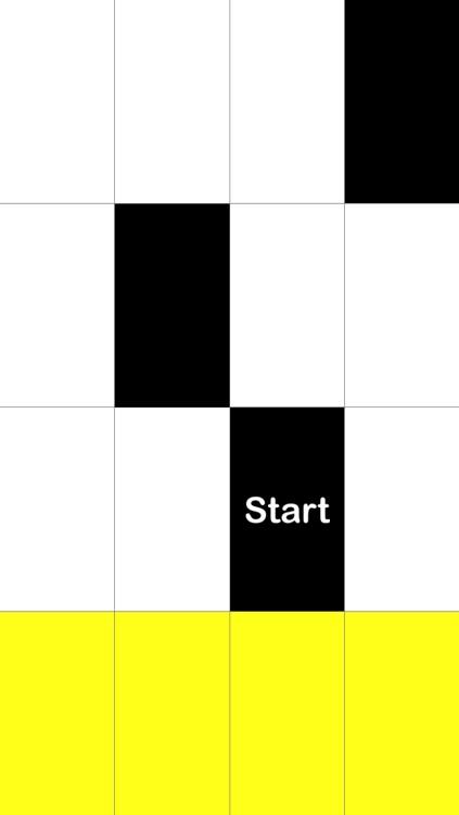 Tap Black Tiles, Avoid White Tiles