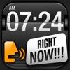 言うアラーム 無料 (TTS Alarm) - iPhoneアプリ