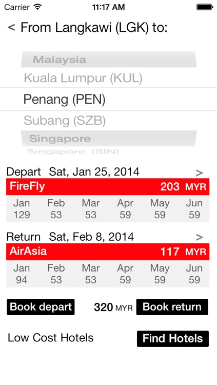LowCost Flights Asia - Extremely Fast Price Search