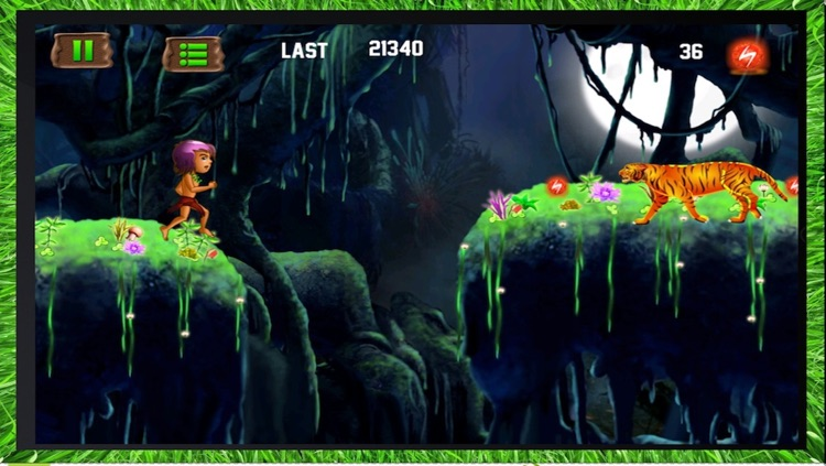 Jungle Kid Adventure Run - Dark Forest Fantasy HD screenshot-3