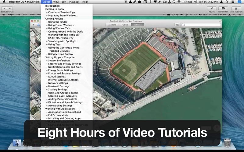 Tutor for OS X Mavericks Screenshot