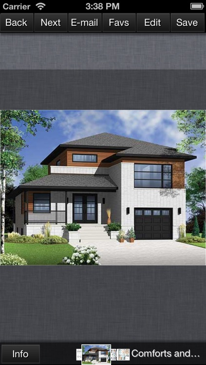 Contemporary House Design - Family Home Plans screenshot-4