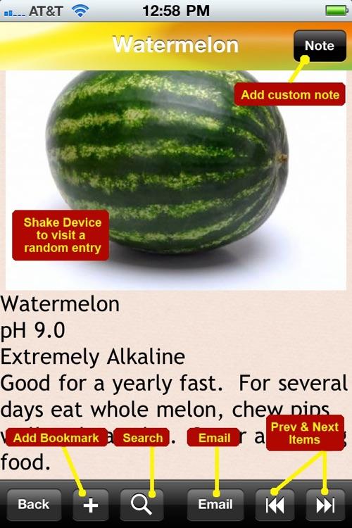 Alkaline Food for Health screenshot-4