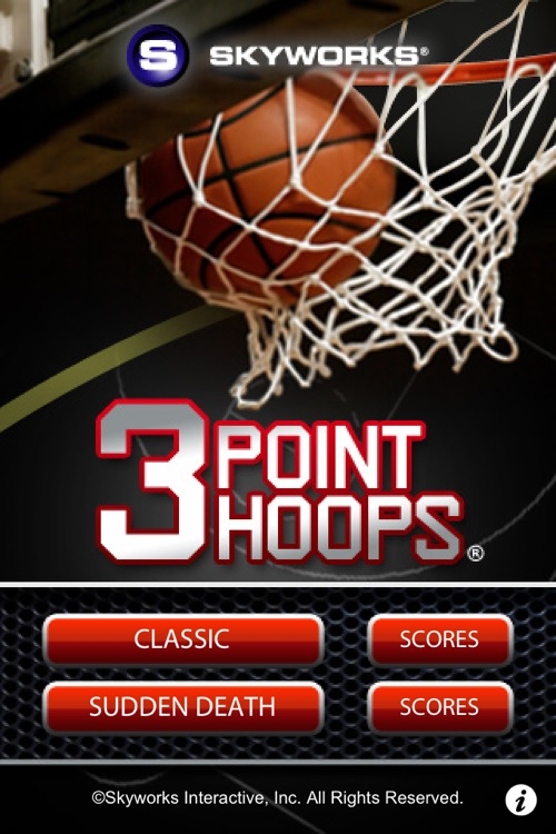 3 Point Hoops® Basketball