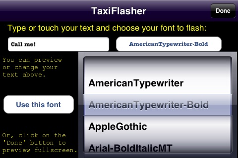 TaxiFlasher screenshot-3