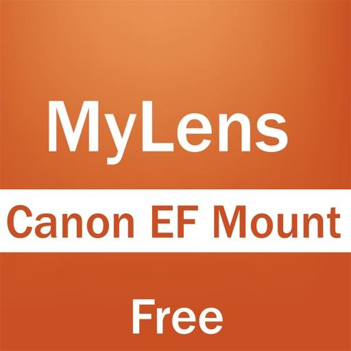MyLens For Canon EF Mount iOS App